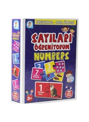 Laço Kids Laço Kids Eğitici Kartlar Sayıları Öğreniyorum 40 Parça Renkli